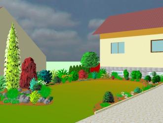 3D návrhy zahrad